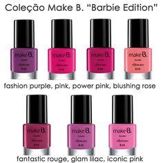 Papo de Mulher: Make B. Barbie Edition por O Boticário