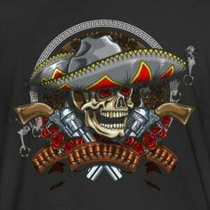 The fat Mexican 🔫 Biker Clubs, Motorcycle Clubs, Bandidos Motorcycle Club, Chicano Art, Mexicans, Red Gold, Bikers, Soldiers, Harley Davidson