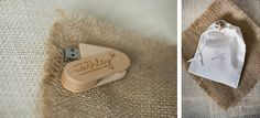 Wooden USB - Wedding Packaging - Photography: A Photo by Ashley