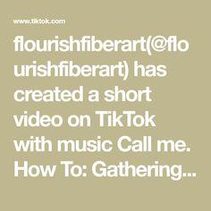 flourishfiberart(@flourishfiberart) has created a short video on TikTok with music Call me. How To: Gathering Knot #macrame #macrametutorial #diyproject #fiberart #fyp #macrameplanthanger #bohodecor #macramelove Macrame Projects, Diy Projects, Macrame Plant Hanger Patterns, Macrame Tutorial, Boho Decor, The Originals, Create, Oblivion, Video