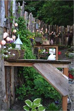 Um jardim para cuidar: O JARDIM À NOITE