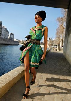 #Robe mode #africaine #Tcharakoura