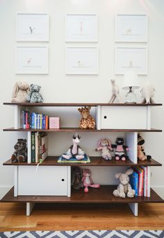Love the shelves Christina Caldwell #kidsroom