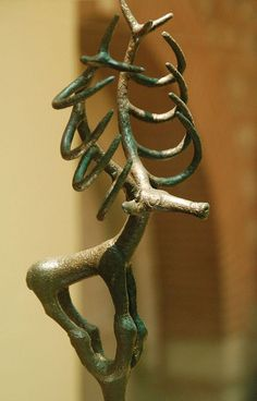 Bronze age stag statue, Museum of Anatolian Civilizations
