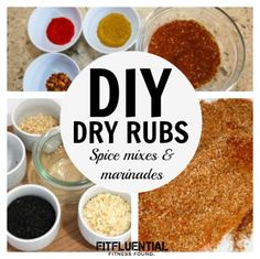 DIY Dry Rubs, Spice Mixes and Marinades - Grilling time is here!