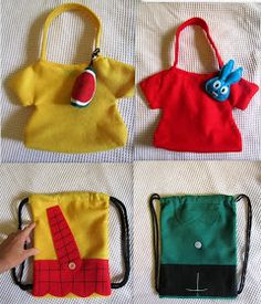 Atelier Pequeno: Lembrancinhas Turma da Mônica Diy And Crafts, Arts And Crafts, Baby Birthday, Toy Story, Lunch Box, Tote Bag, Toys, Gigi 2, Lucca