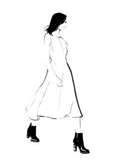 #Fashion #Illustration Judith van den Hoek