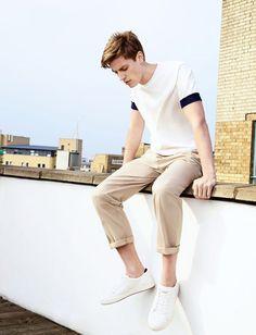 Afbeelding 1 van Look 9 van Zara Look Fashion, Mens Fashion, Fashion Outfits, Fashion Trends, Fast Fashion, Fashion Design, Outfit Jeans, Zara Man Shirts, Zara Looks