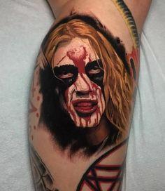 Pretty Tattoos, Cool Tattoos, Tatoos, First Tattoo, I Tattoo, Mayhem Band, Tattoo Templates, Satanic Art, Metal Tattoo