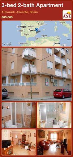 3-bed 2-bath Apartment in Almoradí, Alicante, Spain ►€65,000 #PropertyForSaleInSpain