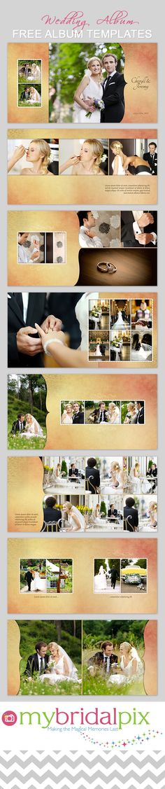 FInd all your needs for a DIY #wedding #album at www.mybridalpix.com. Why pay a…                                                                                                                                                                                 More