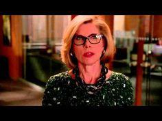 """Diane Lockhart [The Good Wife] - """"We follow the law"""". Una mujer con matices; se equivoca, es honesta, ... Me recuerda a la duquesa Sanseverina de Stendhal en lo bueno: """"Cuando amaba algo lo amaba para siempre"""" y al contrario que ella no sigue lo de  """"jamás volvía sobre decisiones tomadas"""". Eso es sabiduría y quién no quiere tener a una mujer así a su lado."""