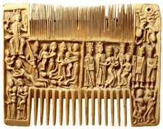 The H Combs of Medieval France - great article with multiple pictures of combs from   Barbaraanne's Hair Comb Blog