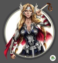 The+goddess+Thor+by+Jgass.deviantart.com+on+@DeviantArt