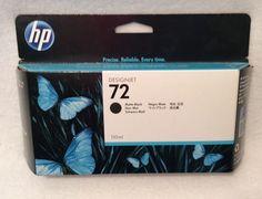 Genuine Hewlett Packard C9403A HP 72 Matte Black Ink Cartridge July 2017 Sealed    eBay