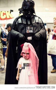 Princess of the dark side…