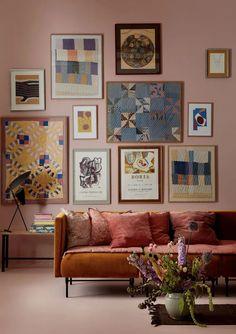 Trend tessuti: il velluto Canapé Design, Interior Design, Graphic Design, Sweet Home, Wall Decor, Room Decor, Living Room Trends, Kitchen Paint, Decoration