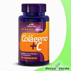 Promoção da Semana>> Colágeno com Vitamina C 120 comprimidos.  Compre agora e tenha todos os benefícios do colágeno! #presenteparasuasaude