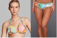 8f7b010ad Trina Turk Sea Cove Push Up Halter Top   Surf Hipster Bikini Bottom