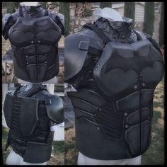 Batman Torso/Shoulders: Arkham Origins by DarkKnightFX on Etsy
