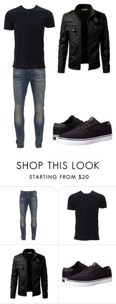 """Blend In"" by crying-jester ❤ liked on Polyvore featuring Scotch & Soda, Lakai, men's fashion and menswear"