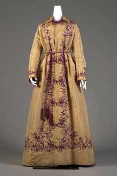 Japanese dressing gown, late 1870's