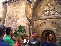Iglesia de San Juan del Hospital.  Ruta Camins de Conquesta. La Valencia de Jaume I. Valencia. CaminArt
