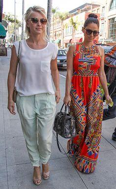 Julianne Hough and Olivia Munn's Spring-Forward Style