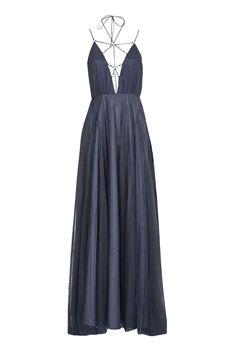 Topshop Tulle Laceup Maxi Dress — um, this dress