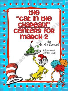 "The ""Cat in The Chapeau!"" ~ Centers for March 2"