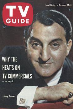 TV Guide, December 12, 1959 - Danny Thomas