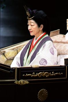 Japanese Empress Michiko, first commoner to be married into royalty - so it's been said :-)