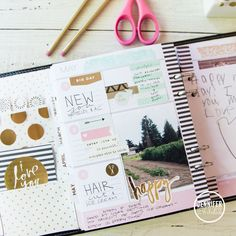 What to add to your @heidiswapp Memory Planner pages by @createoften