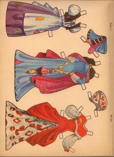 Cinderella Paper Doll #1730 – continued