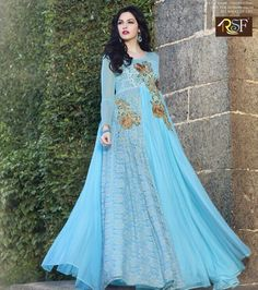 Buy Online Beautiful Gown Style Anarkali Salwar Suit