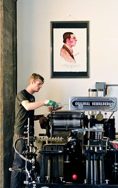 Keegan Meegan – Illustration & Letterpress. #heidelberg #letterpress Letterpress Machine, Letterpress Printing, Printing Press, Screen Printing, Offset Printing, Packaging Solutions, Ex Machina, Print Packaging, Museum Exhibition
