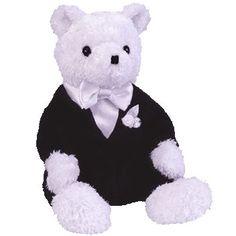 Groom the wedding bear ty beanie baby - retired d63d8426780c