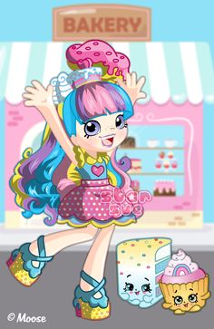 Shopkins Game, Shopkins Girls, Shopkins Cartoon, Shoppies Dolls, Shopkins And Shoppies, Shopkins Picture, Mermaid Melody, Custom Monster High Dolls, Toddler Girls