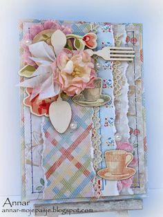 DT City Crafter Challenege Blog - Kitchen Card #Melissa Frances