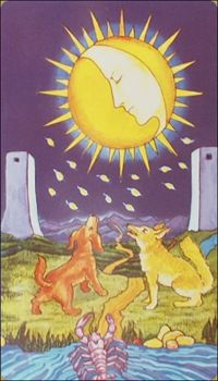 Moon Tarot Card Meanings tarot card meaning