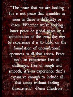 Pema Chodron. Wisdom