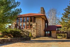 The Hillside Home School, Spring Green, Wisconsin, 1904, Frank Lloyd Wright