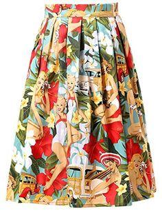 Damen A-linien Roecke Elegant Faltenrock Knielang Vintage mit Mehren Farben CL6294  Yafex  (111)  Neu kaufen: EUR 12,38 - EUR 17,98  (In der Röcke-Bestseller -Liste finden Sie maßgebliche Informationen über die aktuelle Rangposition dieses Produkts.)