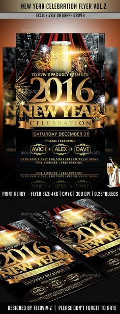 flyer size new year celebration club parties new years party party flyer flyer template