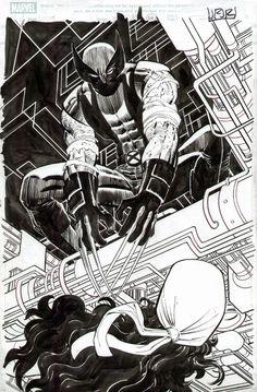 Wolverine by John Romita Jr.