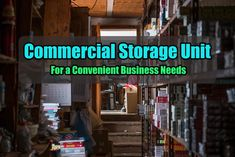 You might be wondering about the difference between self storage unit and commercial storage unit. Well, to give you a clear picture, commercial ones are used by entrepreneurs for their business needs. Call us today on 1300 40 90 Self Storage Units, Commercial, The Unit, Business, Blog, Pictures, Photos, Photo Illustration, Business Illustration