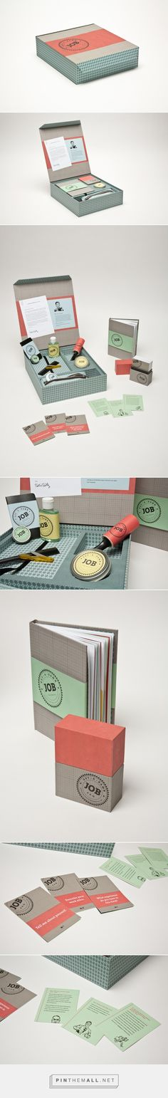 Get A Damn Job on Behance by Katie Hatz curated by Packaging Diva PD. Cool and clever packaging yourself advice.