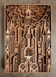 Online shop to purchase the artwork of Gabriel Schama. Laser Art, 3d Laser, Laser Cut Wood, Laser Cutting, Wooden Wall Panels, Wooden Wall Art, Wood Art, Wall Sculptures, Sculpture Art