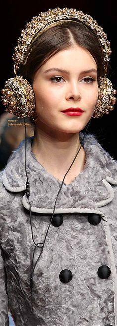 ~ Living a Beautiful Life ~ Dolce & Gabbana Fall 2015 RTW