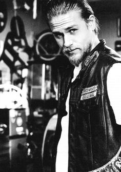 Jax Teller - Sons of Anarchy and Christian grey! I like that